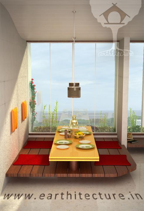 Furniture Indian Styled Dining Earthitecture Architectural Firm