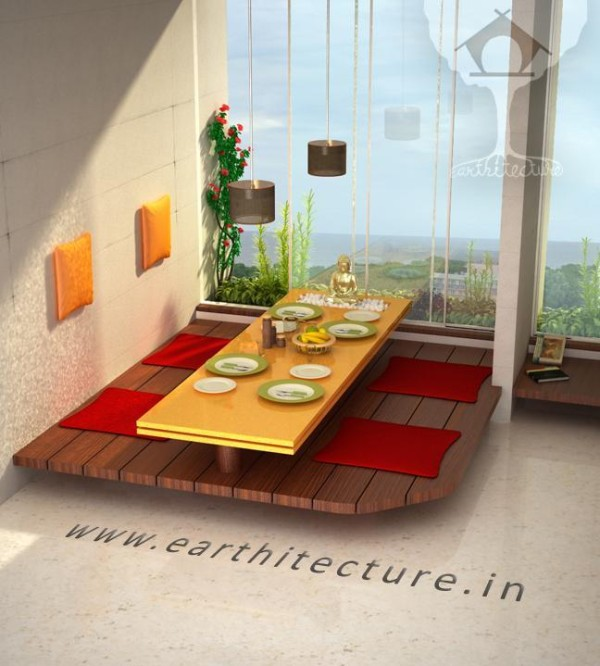 Furniture-Indian Styled Dining ‹ Earthitecture