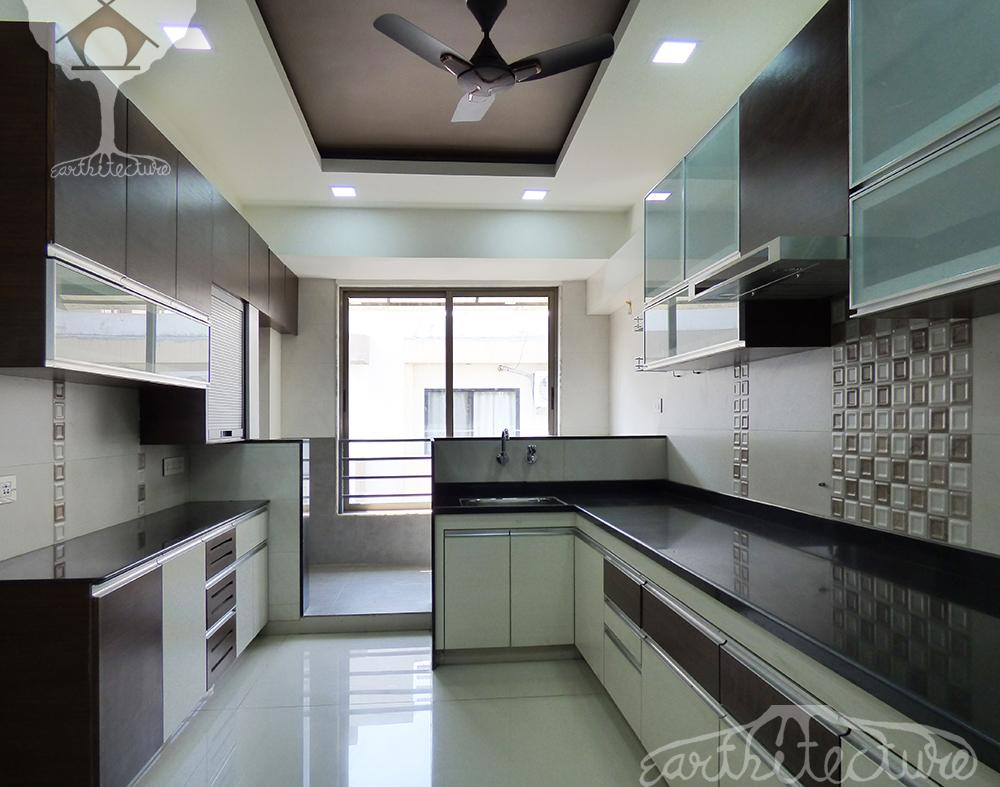 Interior-3BHK Apartment ‹ Earthitecture- Architectural ...