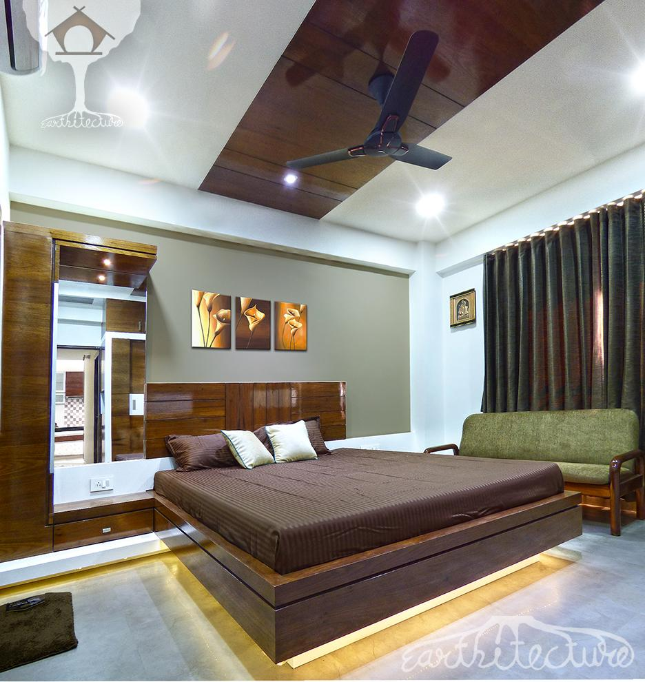 interior 3bhk apartment earthitecture architectural firm architects in ahmedabad i. Black Bedroom Furniture Sets. Home Design Ideas