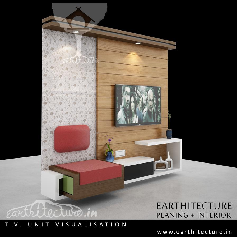 furniture tv unit earthitecture architectural firm architects